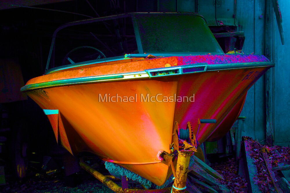 Speed Boat by Michael McCasland
