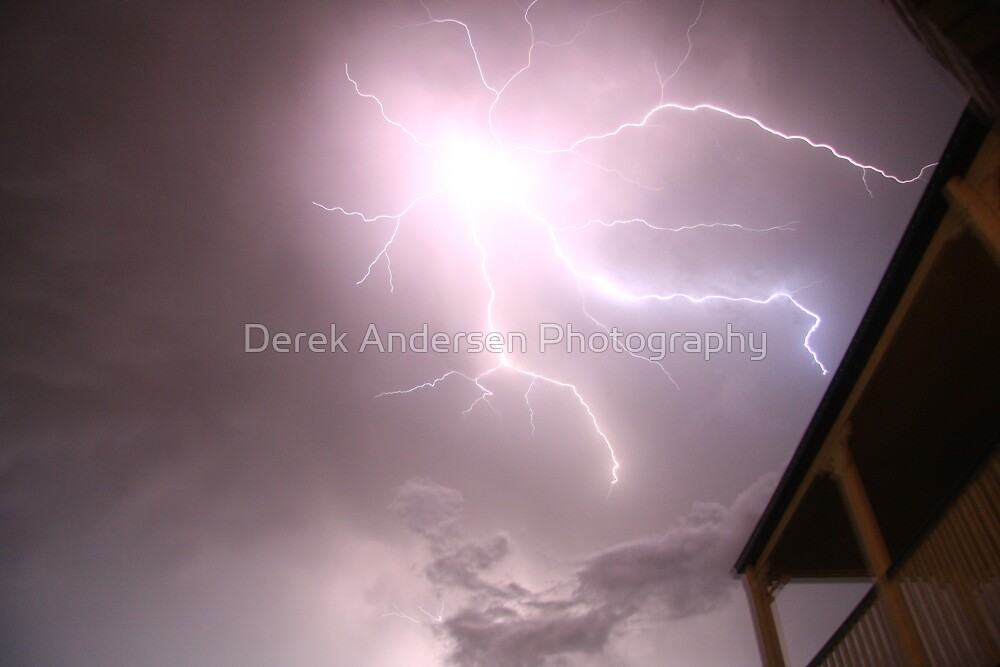 light show at our house by Derek Andersen Photography