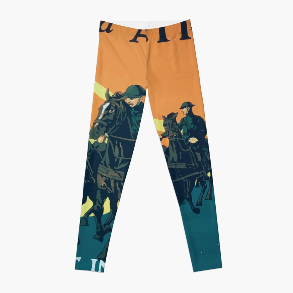 Adventure and action Enlist in the field artillery US Army Leggings
