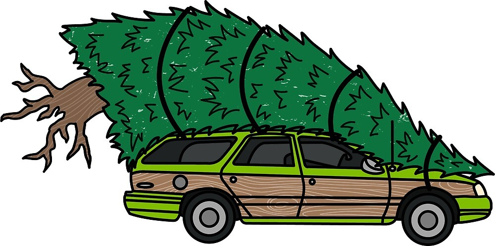 Christmas Vacation Car.Christmas Vacation By Herewegrow Redbubble