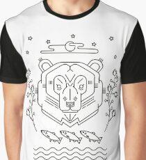 Scandinavian Bear Graphic T-Shirt