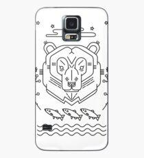 Scandinavian Bear Case/Skin for Samsung Galaxy