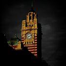 Flinders Clock Tower by Andrew Wilson