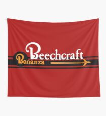 Beechcraft Bonanza  Wall Tapestry