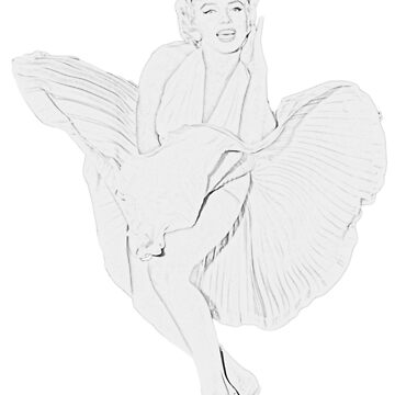 Marilyn Monroe by brunohurt