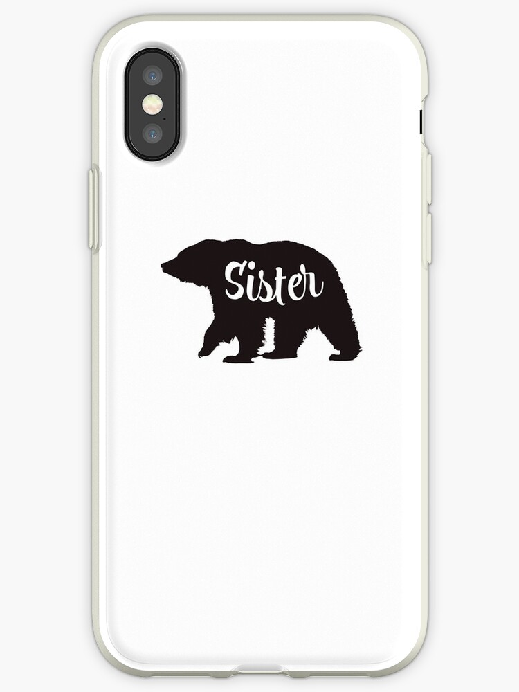 huge selection of 9e4bd 6849b 'Sister Bear Matching Family' iPhone Case by rkhy