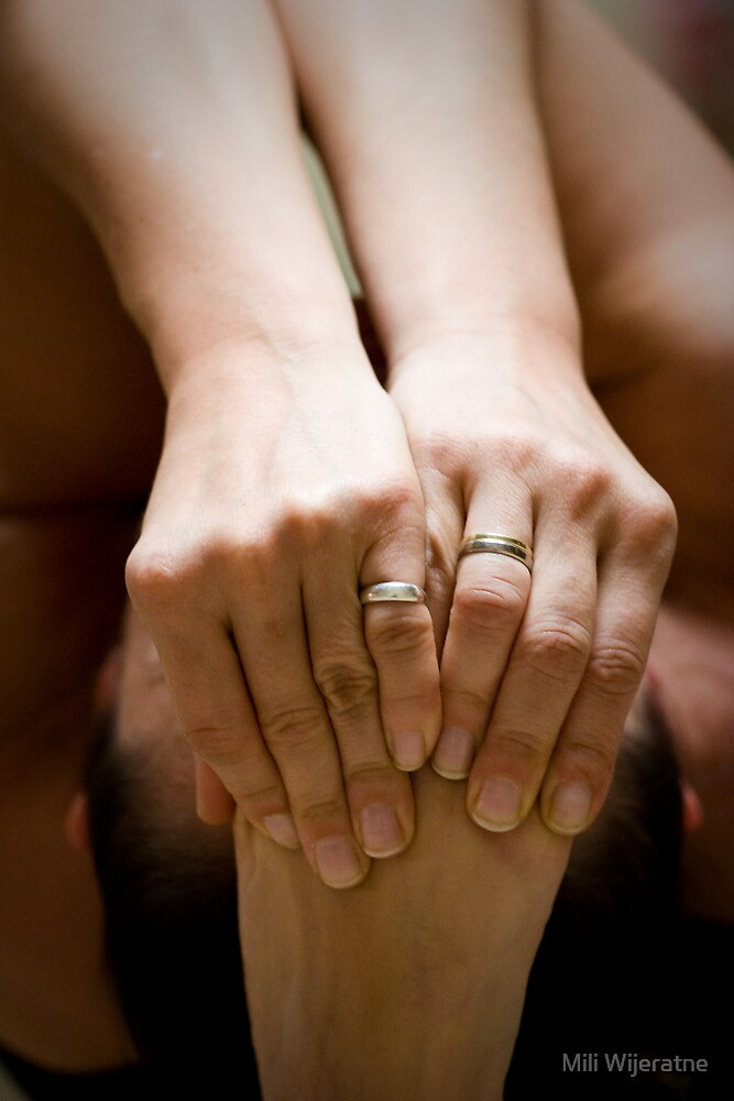 Yoga Hands by Mili Wijeratne