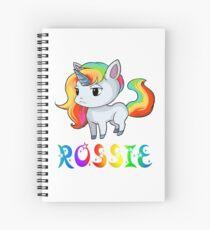 Rossie Unicorn Spiral Notebook