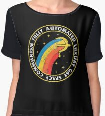 Fully Automated Luxury Gay Space Communism Chiffon Top