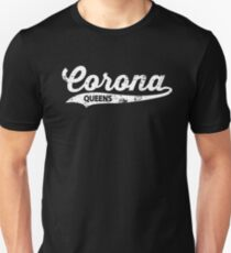Corona Queens T-shirt : Retro Queens Vintage NYC Tee  Unisex T-Shirt