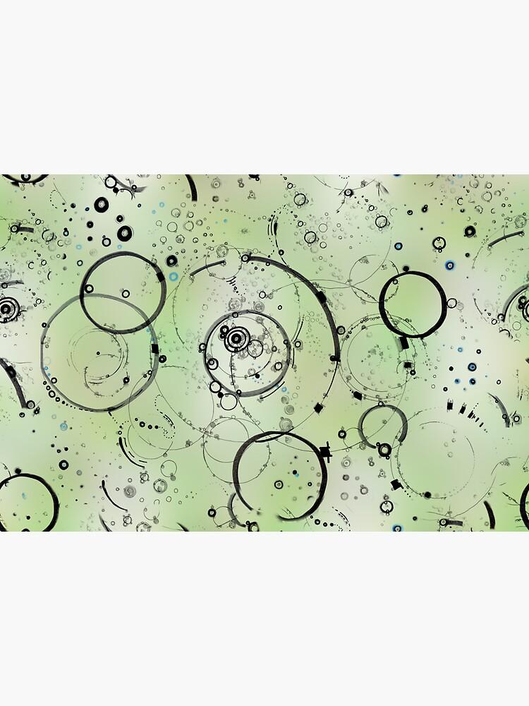 paths - soft green by rvalluzzi