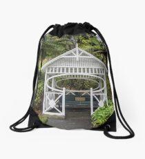 Botanical Gardens Gazebo Drawstring Bag