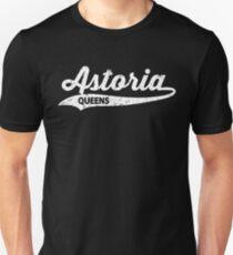 Astoria Queens T-shirt : Retro Queens Vintage NYC Tee  Unisex T-Shirt