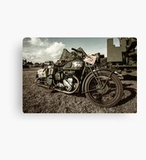 BSA M20  Canvas Print