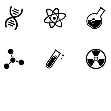 Wissenschaft Vektor-Icons von simbamerch