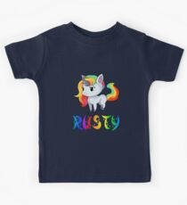Rusty Unicorn Kids Tee
