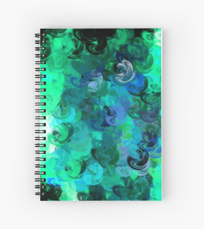 Blue Swirls by JEmanuel
