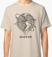 Queens Flushing New York Unisphere  Classic T-Shirt