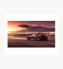 Vulcan Race Car Art Print