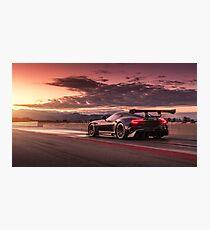 Vulcan Race Car Photographic Print