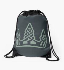 Winterhold · Grey Emblem Drawstring Bag