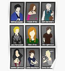 Shadowhunter characters  Poster