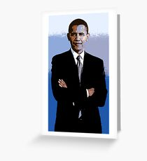 Barack_Obama Greeting Card