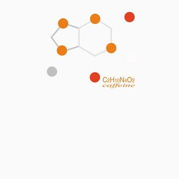 Caffeine molecule by indidi