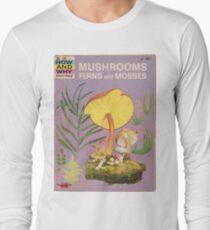 Mushroom Book Cover Long Sleeve T-Shirt