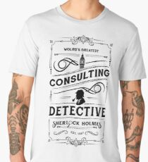 World's Greatest Consulting Detective  - Sherlock Holmes Men's Premium T-Shirt