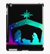 Christmas Nativity Scene- Coloured iPad Case/Skin