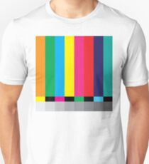 Test Pattern 101 - It's the rectangle style Unisex T-Shirt