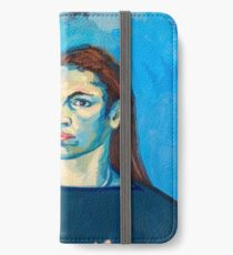 Check Yourself (self portrait) iPhone Wallet/Case/Skin