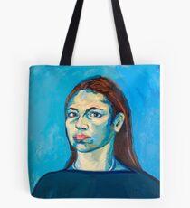 Check Yourself (self portrait) Tote Bag
