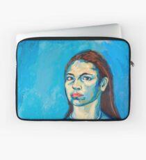 Check Yourself (self portrait) Laptop Sleeve