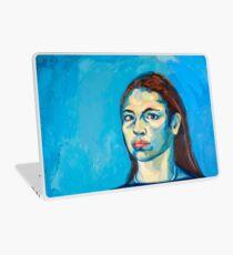 Check Yourself (self portrait) Laptop Skin