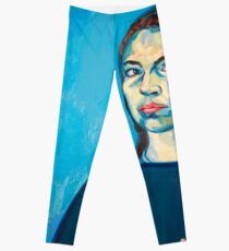 Check Yourself (self portrait) Leggings