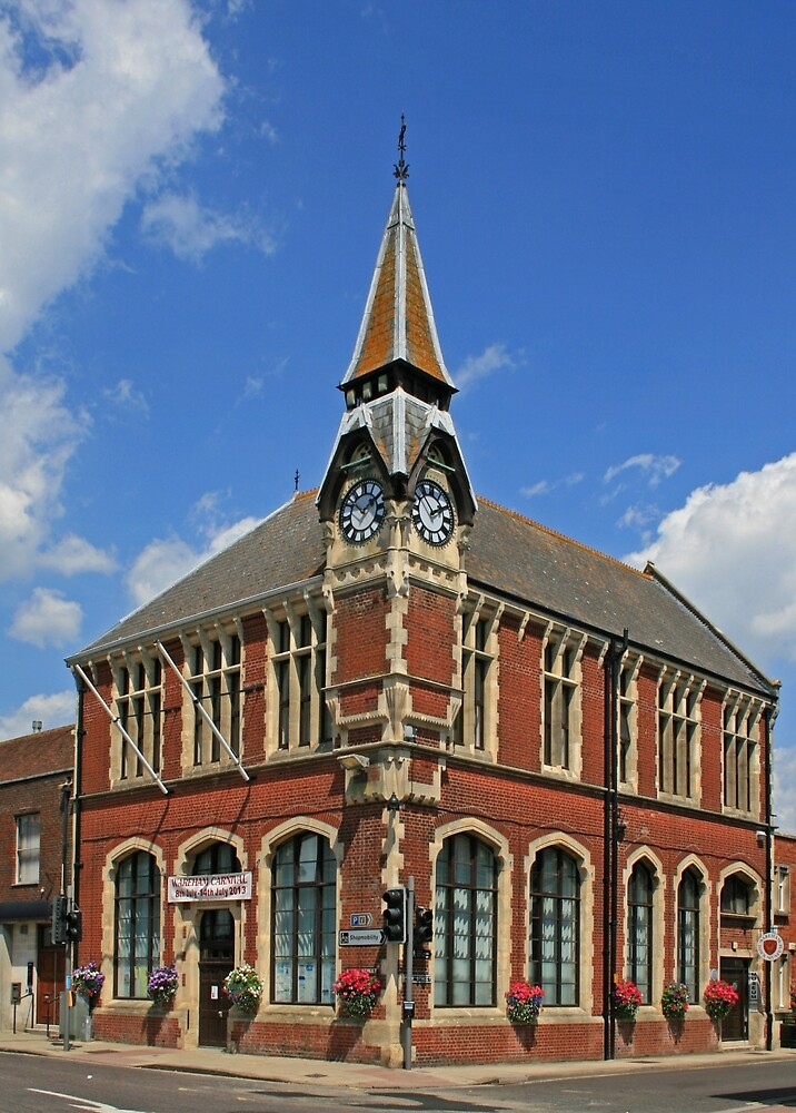 Wareham Town Hall by RedHillDigital