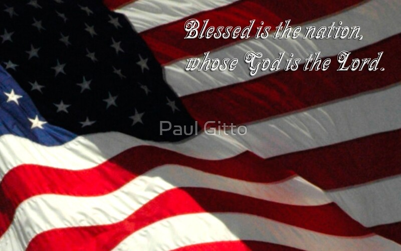 Quot Blessed Is The Nation Whose God Is The Lord Quot By Paul
