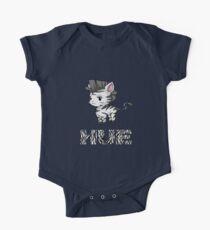 Zebra Hue Short Sleeve Baby One-Piece