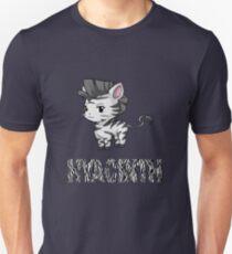 Zebra Hyacinth Slim Fit T-Shirt