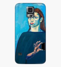 Check Yourself (self portrait) Case/Skin for Samsung Galaxy