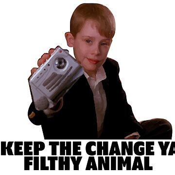 Home Alone - Keep The Change Ya' Philthy Animal! by martianart