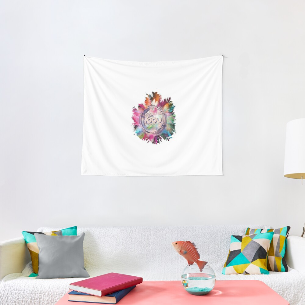 Colorful Tobu Tapestry
