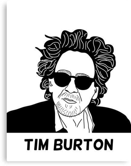 Tim Burton - Portrait by 8mmAttire