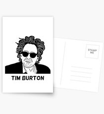 Tim Burton - Portrait Postcards