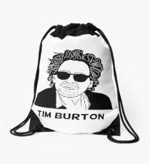 Tim Burton - Portrait Drawstring Bag