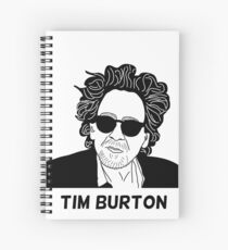 Tim Burton - Portrait Spiral Notebook