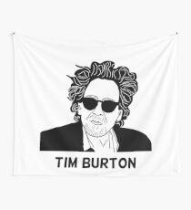 Tim Burton - Portrait Wall Tapestry
