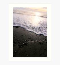 Beach in La Push Art Print